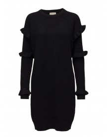 Rib Ruffle Dress Michael Kors Dresses afbeelding