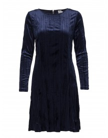 Plisse Velvet Dress Saint Tropez Dresses afbeelding