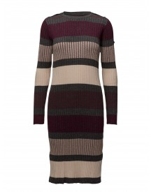 Striped Knit Dress Saint Tropez Dresses afbeelding
