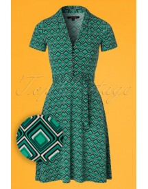 60s Emmy Koko Dress In Mint Green afbeelding