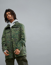 Analog Tollgate Ski Jacket In Green Camo afbeelding