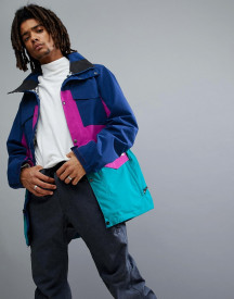 Analog Tollgate Ski Jacket In Purple/blue/pink afbeelding
