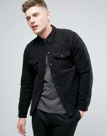 Another Influence Quilted Shirt Jacket afbeelding