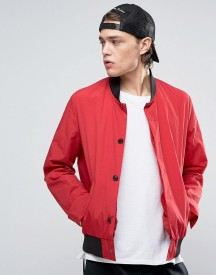 Asos Bomber Jacket In Red afbeelding
