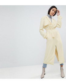 Asos Design Tall Crepe Duster Mac afbeelding