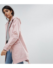 Asos Design Tall Summer Parka With Jersey Lining afbeelding