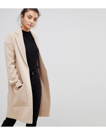Asos Tall Crepe Pocket Detail Coat afbeelding
