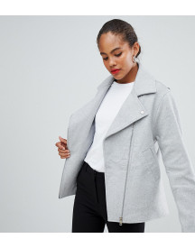 Asos Tall Formal Biker Jacket afbeelding