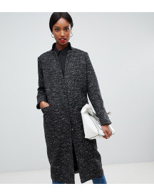 Asos Tall Oversized Coat In Textured Fabric afbeelding