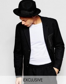 Black Eye Rags Blazer With Nylon Panelled Pockets afbeelding