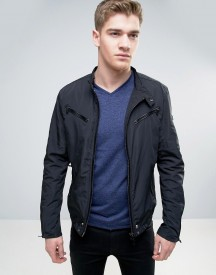 Born Rich Biker Jacket With Multi Zips afbeelding
