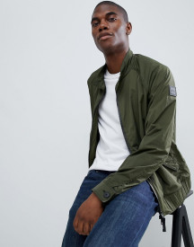 Boss Osames Harrington Jacket In Khaki afbeelding