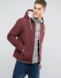 Brave Soul Hooded Jacket With Toggles afbeelding