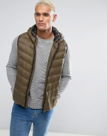 Brave Soul Padded Layering Gilet Jacket afbeelding