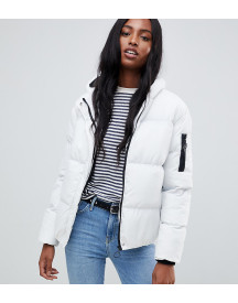 Brave Soul Tall Karen Padded Coat With Hood afbeelding
