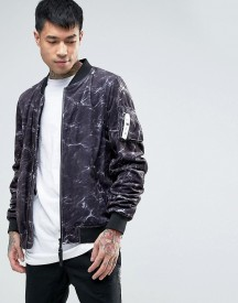 Cayler & Sons Bomber Jacket In Water Print afbeelding
