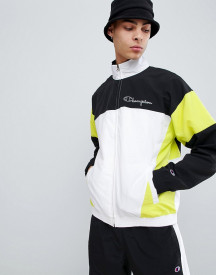 Champion Panel Track Jacket In Black afbeelding