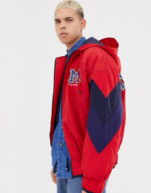 Collusion Padded Bomber Jacket With Back Print afbeelding