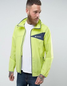 Columbia Addison Park Windbreaker Jacket Lightweight In Yellow afbeelding