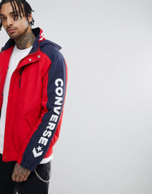 Converse Boat Jacket In Red 10005863-a01 afbeelding