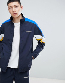 Converse Colour Block Track Jacket In Navy 10006473-a02 afbeelding