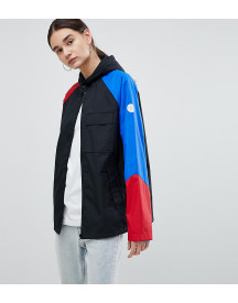 Converse Cons Skate Jacket In Black With Colourblock Sleeve afbeelding