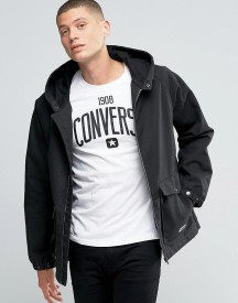 Converse Hooded Jacket In Black 10001185-a03 afbeelding