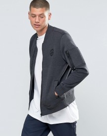 Converse Ma-1 Bomber In Black 10001109-a02 afbeelding