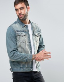 Dead Vintage Light Blue Denim Jacket afbeelding