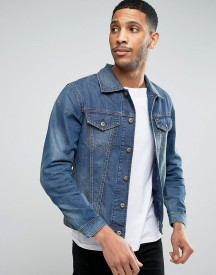 Diesel N-hill Denim Trucker Jacket afbeelding
