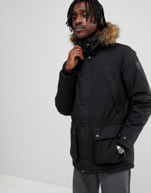Element Fargo Coat In Black afbeelding
