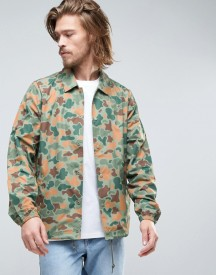 Element Murray Coach Jacket In Jungle Camo Print afbeelding