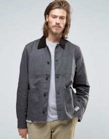 Element Union Chore Worker Jacket Waxed In Off Black afbeelding