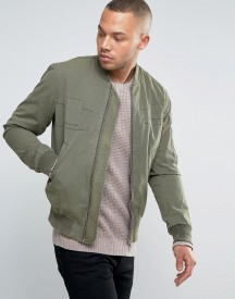 Esprit Bomber Jacket With Tonal Patch Details afbeelding