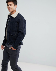 Esprit Denim Jacket With Borg Lining afbeelding