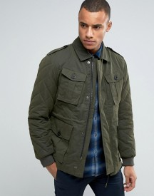 Esprit Military Jacket With Quilted Detail afbeelding