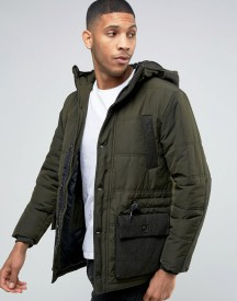 Esprit Padded Jacket With Military Pocket Detail afbeelding