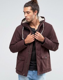 Esprit Parka With Borg Lined Hood afbeelding