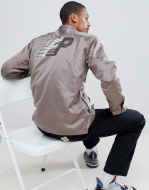 Fairplay Satin Coach Jacket With Back Print afbeelding