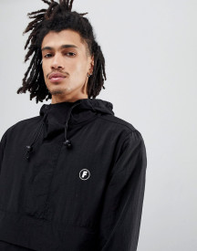Fairplay Tillman Overhead Jacket With Back Print In Black afbeelding