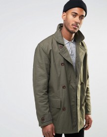 Farah Double Breasted Coat afbeelding