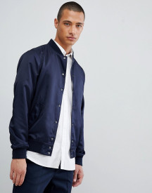 For Varsity Jacket In Navy afbeelding