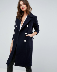 Forever New Military Style Coat afbeelding