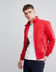 Fred Perry Reissues Made In England Harrington Jacket In Red afbeelding