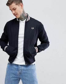 Fred Perry Reissues Made In England Tennis Bomber Jacket In Black afbeelding