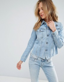 G-star 3301 Ripped Fitted Denim Jacket afbeelding