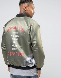 Granted Tour Souvenir Bomber Jacket afbeelding