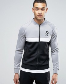 Gym King Track Jacket In Muscle Fit afbeelding