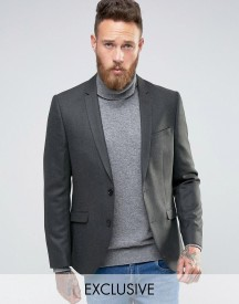 Heart & Dagger Skinny Blazer In Tweed afbeelding