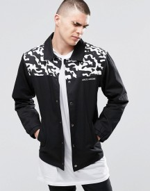 Hero's Heroine Coach Jacket With Camo Patch afbeelding